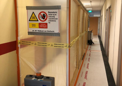 Asbestsanering kantoor Roessingh Enschede