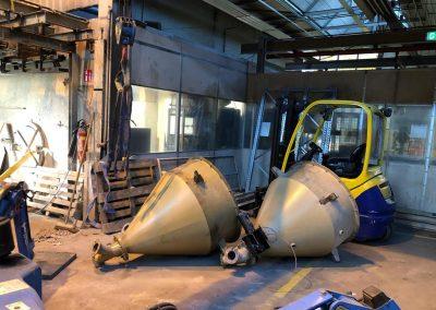 Machine ontmanteling Cirex Almelo