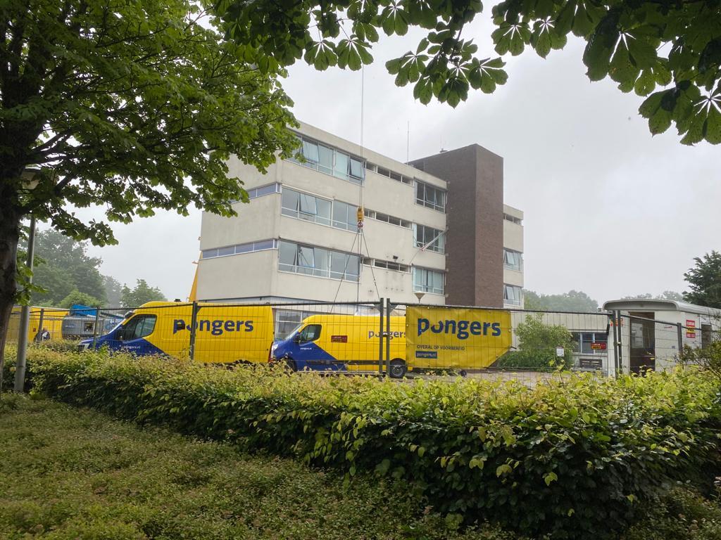 Precisiesloop en asbestsanering bij De Hartkamp in Raalte